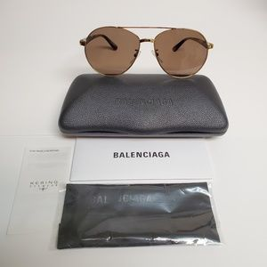 BRAND NEW BALENCIAGA BB0019SK-002 SUNGLASSES